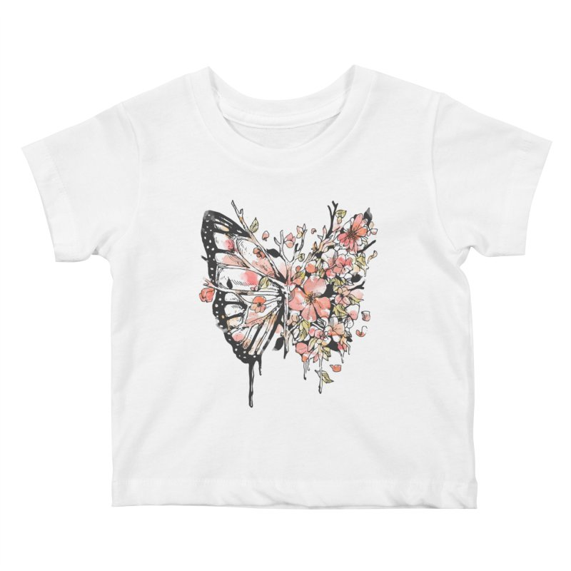 Metamorphora Kids Baby T-Shirt by normanduenas's Artist Shop