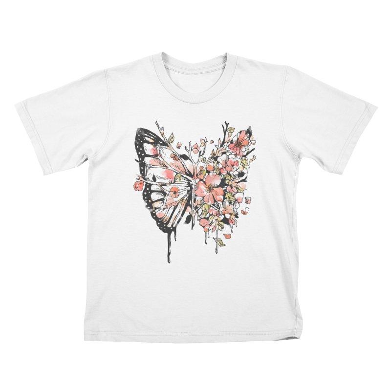 Metamorphora Kids T-Shirt by normanduenas's Artist Shop