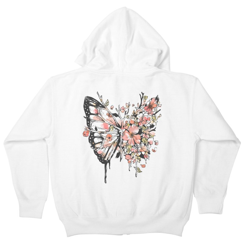 Metamorphora Kids Zip-Up Hoody by normanduenas's Artist Shop