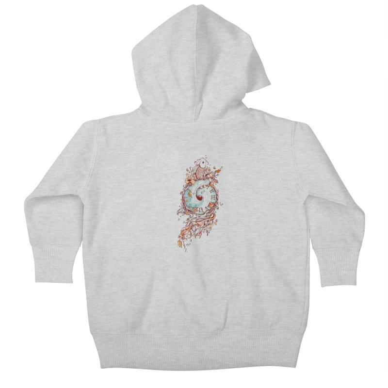 A Temporal Existence Kids Baby Zip-Up Hoody by normanduenas's Artist Shop