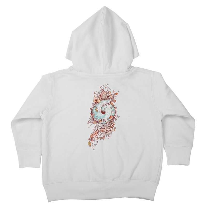 A Temporal Existence Kids Toddler Zip-Up Hoody by normanduenas's Artist Shop
