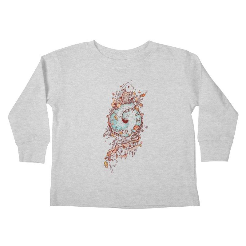 A Temporal Existence Kids Toddler Longsleeve T-Shirt by normanduenas's Artist Shop