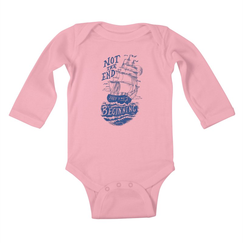 Beginning Kids Baby Longsleeve Bodysuit by normanduenas's Artist Shop