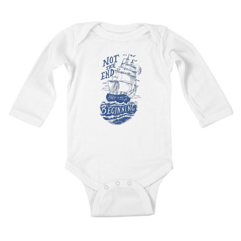 Beginning Kids Baby Longsleeve Bodysuit by normanduenas's Artist Shop