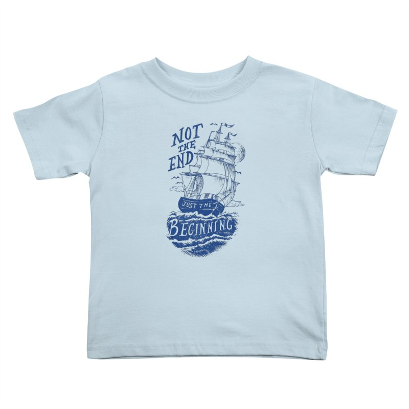 Beginning Kids Toddler T-Shirt by normanduenas's Artist Shop