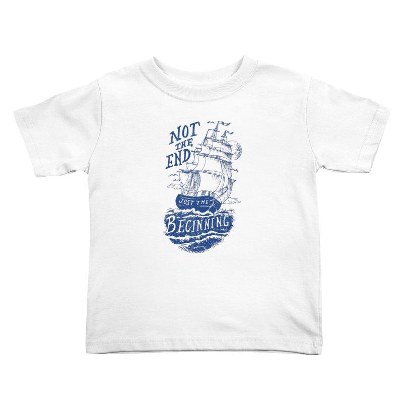 Beginning Kids Toddler T-Shirt by normanduenas's Artist Shop