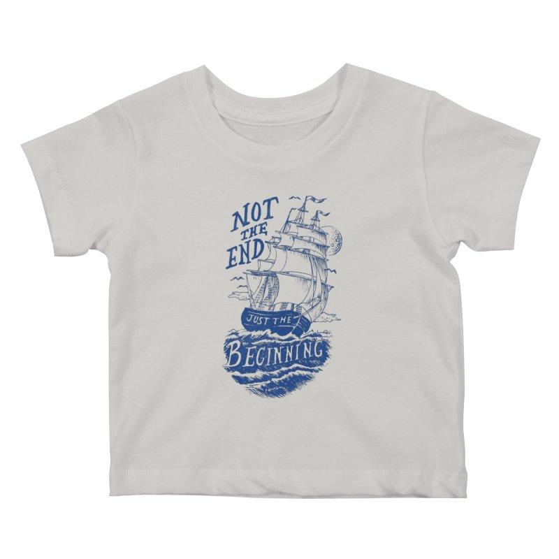 Beginning Kids Baby T-Shirt by normanduenas's Artist Shop