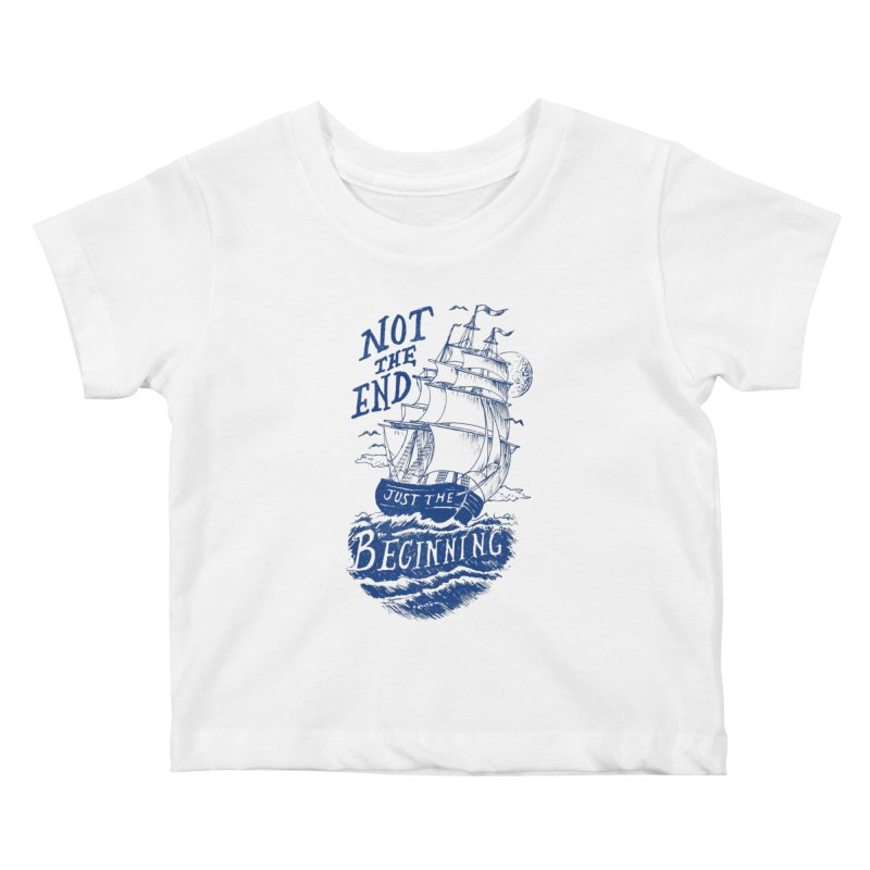 Beginning Kids Baby T-Shirt by normanduenas's Artist Shop