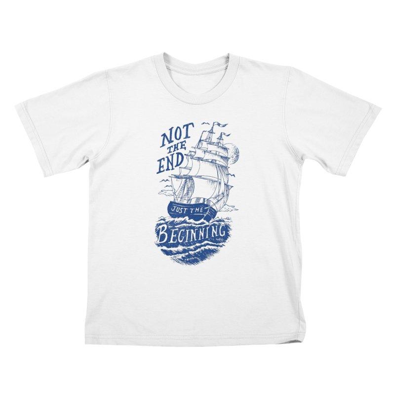 Beginning Kids T-Shirt by normanduenas's Artist Shop