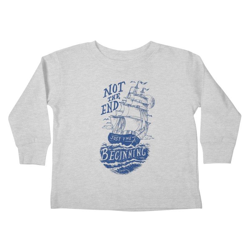Beginning Kids Toddler Longsleeve T-Shirt by normanduenas's Artist Shop