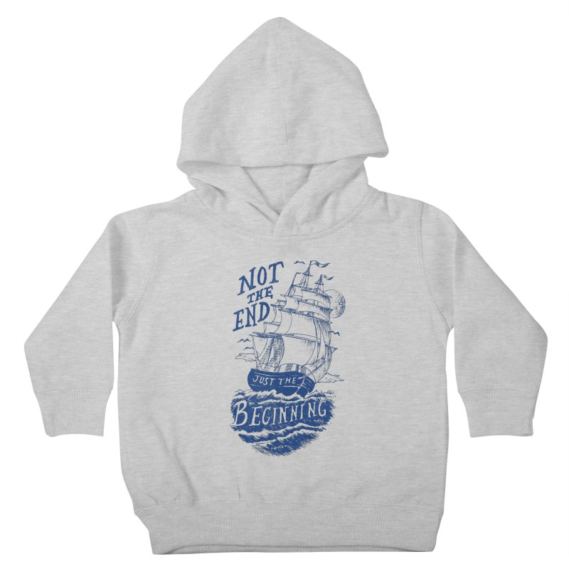 Beginning Kids Toddler Pullover Hoody by normanduenas's Artist Shop