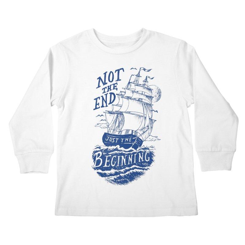 Beginning Kids Longsleeve T-Shirt by normanduenas's Artist Shop