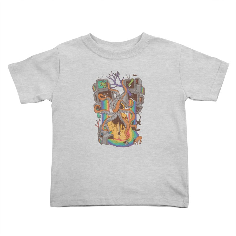 A Fragmented Reality Kids Toddler T-Shirt by normanduenas's Artist Shop