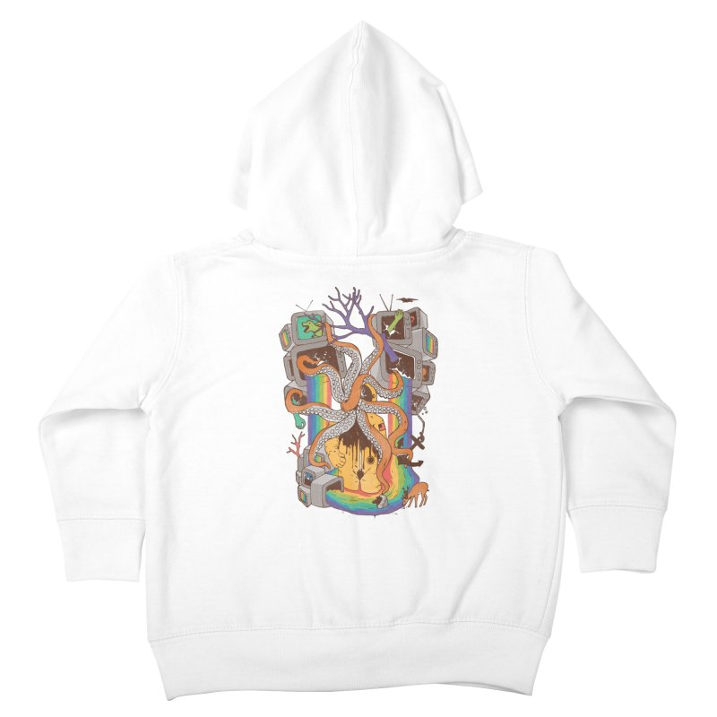 A Fragmented Reality Kids Toddler Zip-Up Hoody by normanduenas's Artist Shop