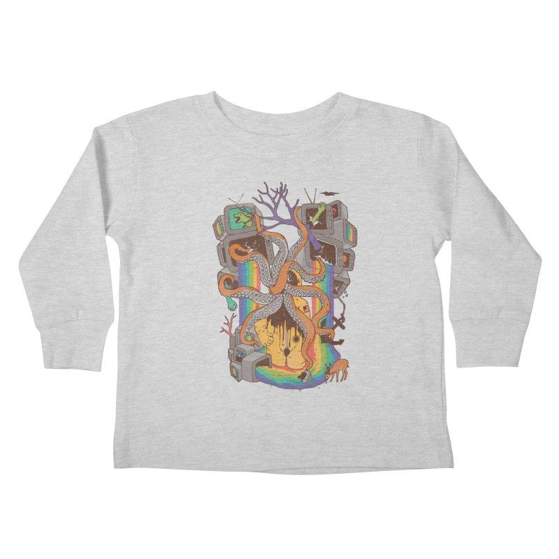 A Fragmented Reality Kids Toddler Longsleeve T-Shirt by normanduenas's Artist Shop
