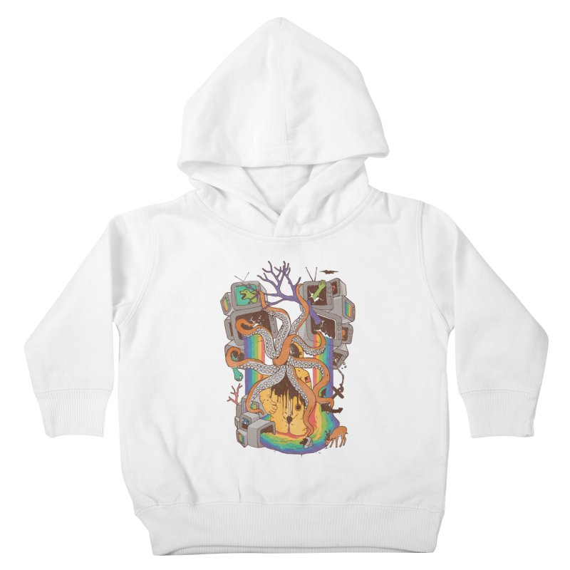 A Fragmented Reality Kids Toddler Pullover Hoody by normanduenas's Artist Shop