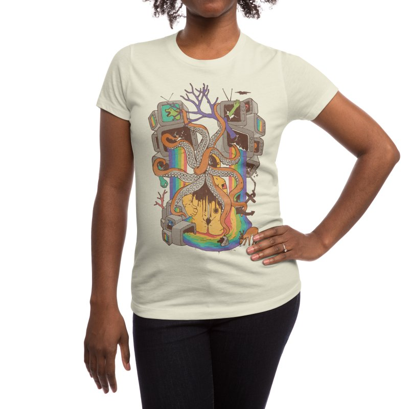 A Fragmented Reality Women's T-Shirt by normanduenas's Artist Shop