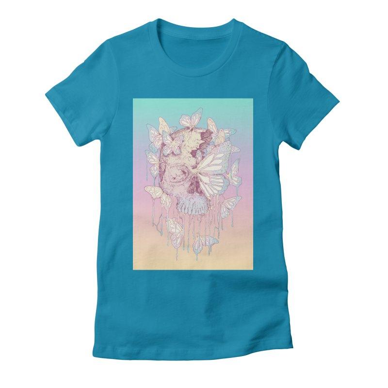 Becoming Women's Fitted T-Shirt by normanduenas's Artist Shop