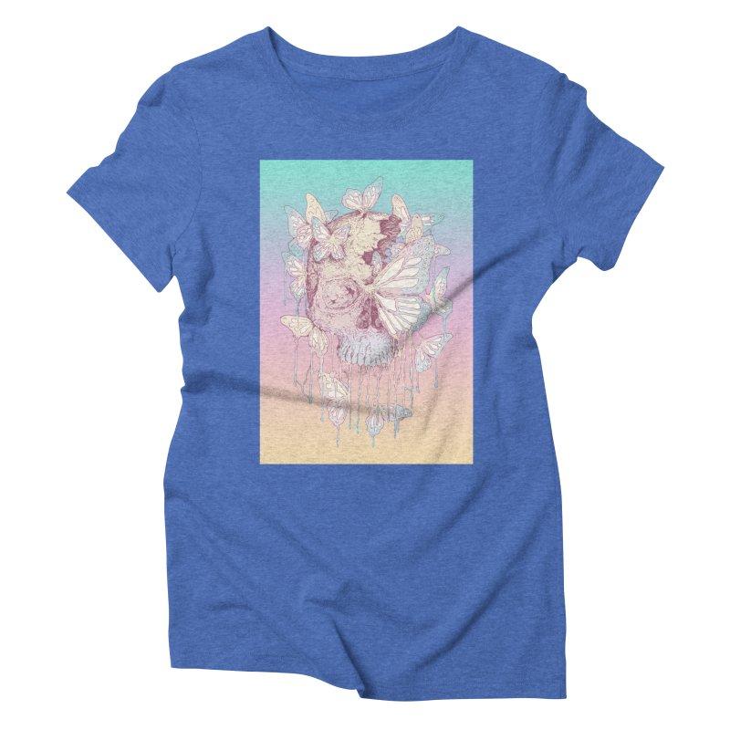 Becoming Women's Triblend T-Shirt by normanduenas's Artist Shop