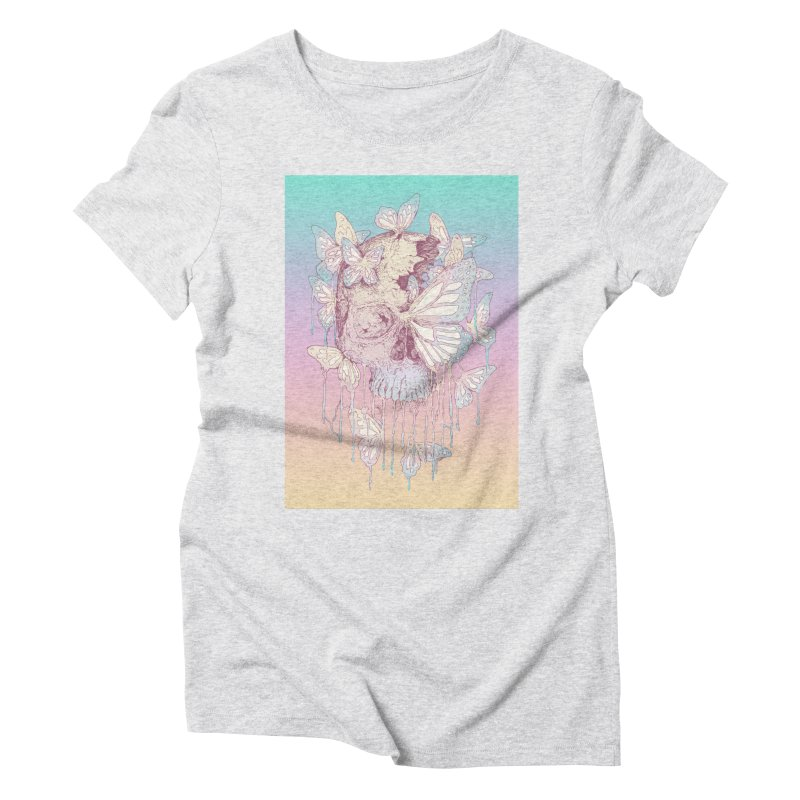 Becoming Women's Triblend T-shirt by normanduenas's Artist Shop