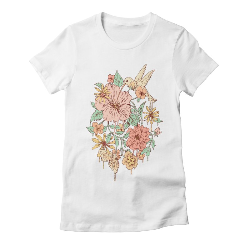 Coexistence Women's Fitted T-Shirt by normanduenas's Artist Shop