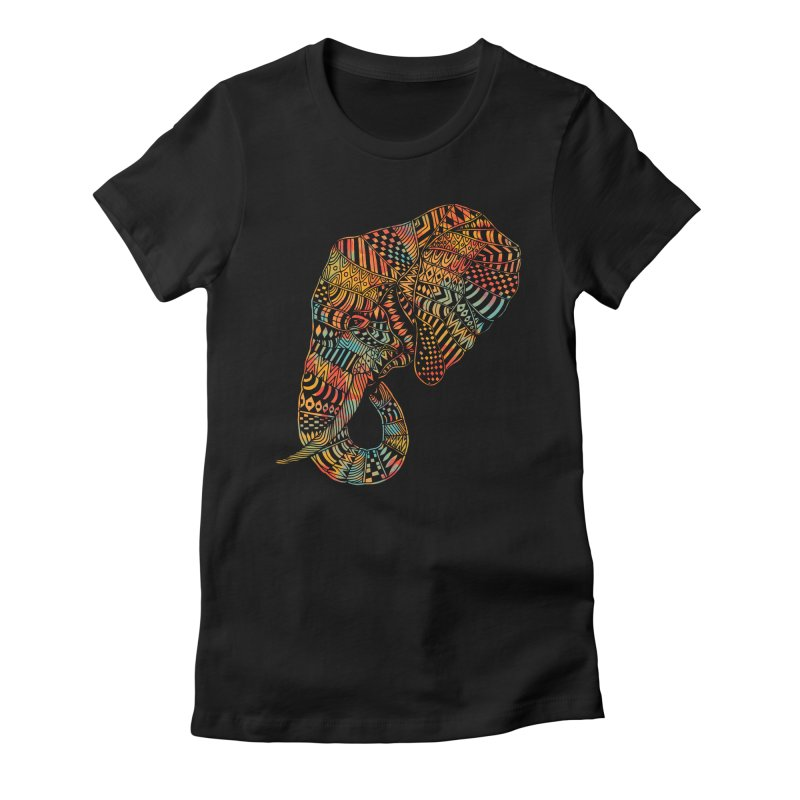 Majestic Women's Fitted T-Shirt by normanduenas's Artist Shop
