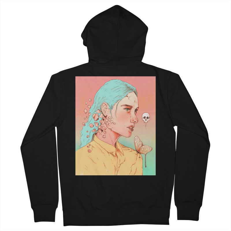 If I Could Only Live Once More Women's Zip-Up Hoody by normanduenas's Artist Shop