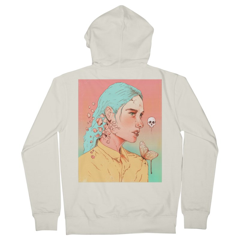 If I Could Only Live Once More Men's Zip-Up Hoody by normanduenas's Artist Shop