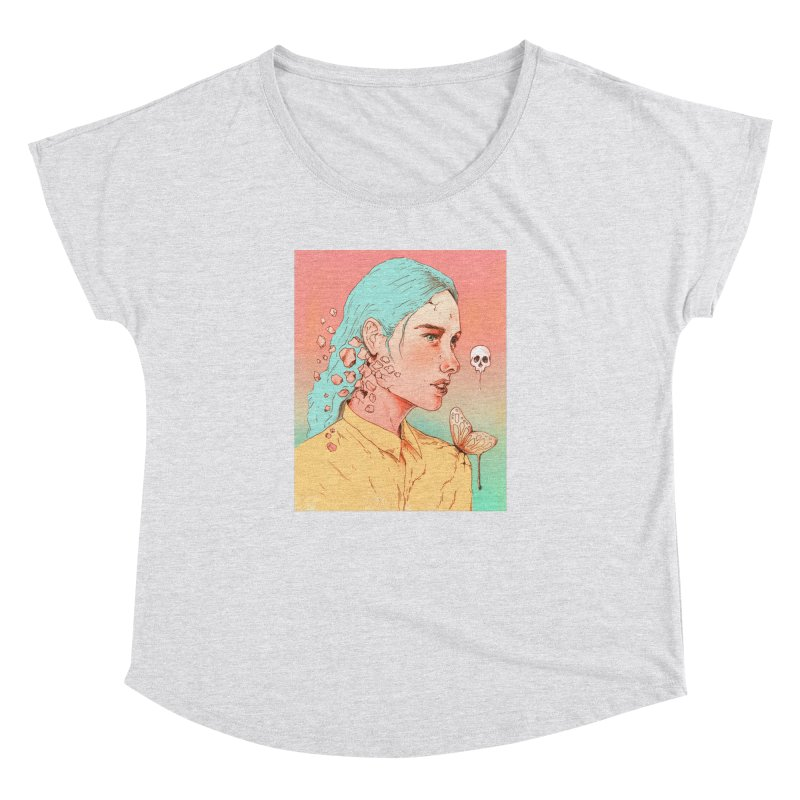 If I Could Only Live Once More Women's Dolman by normanduenas's Artist Shop
