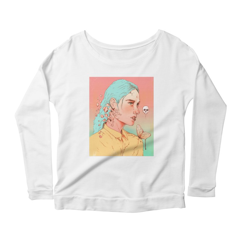 If I Could Only Live Once More Women's Longsleeve Scoopneck  by normanduenas's Artist Shop