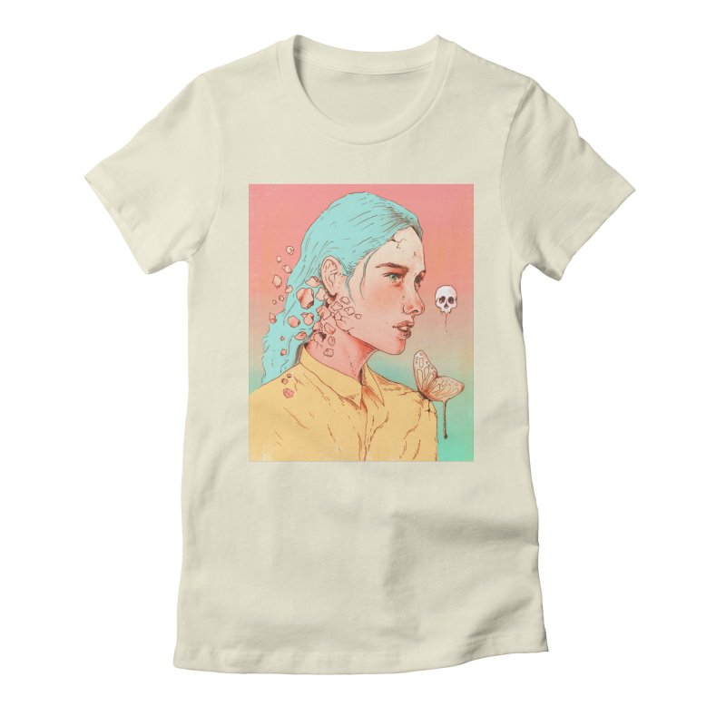If I Could Only Live Once More Women's Fitted T-Shirt by normanduenas's Artist Shop