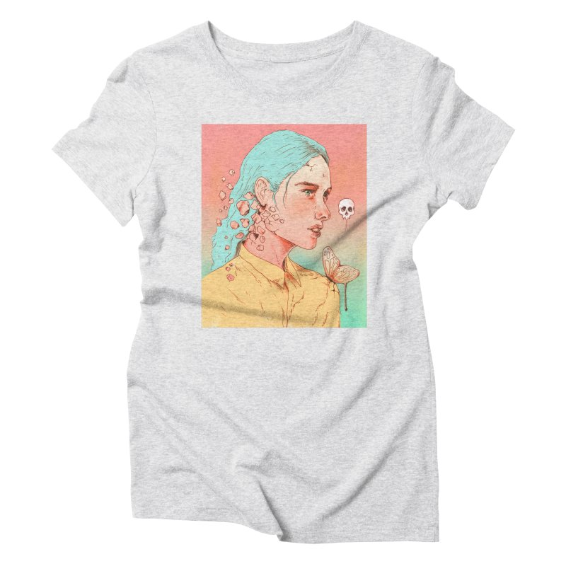 If I Could Only Live Once More Women's Triblend T-shirt by normanduenas's Artist Shop