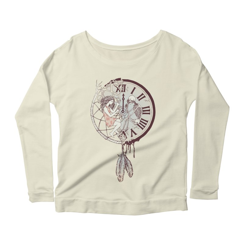 Life is But a Dream Women's Longsleeve Scoopneck  by normanduenas's Artist Shop