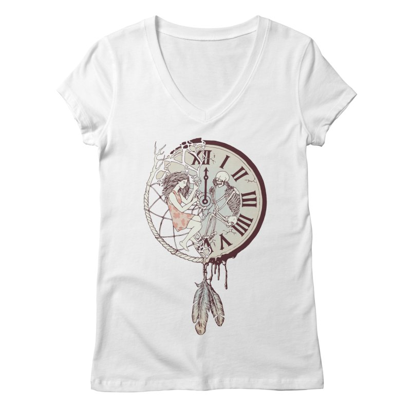 Life is But a Dream Women's V-Neck by normanduenas's Artist Shop