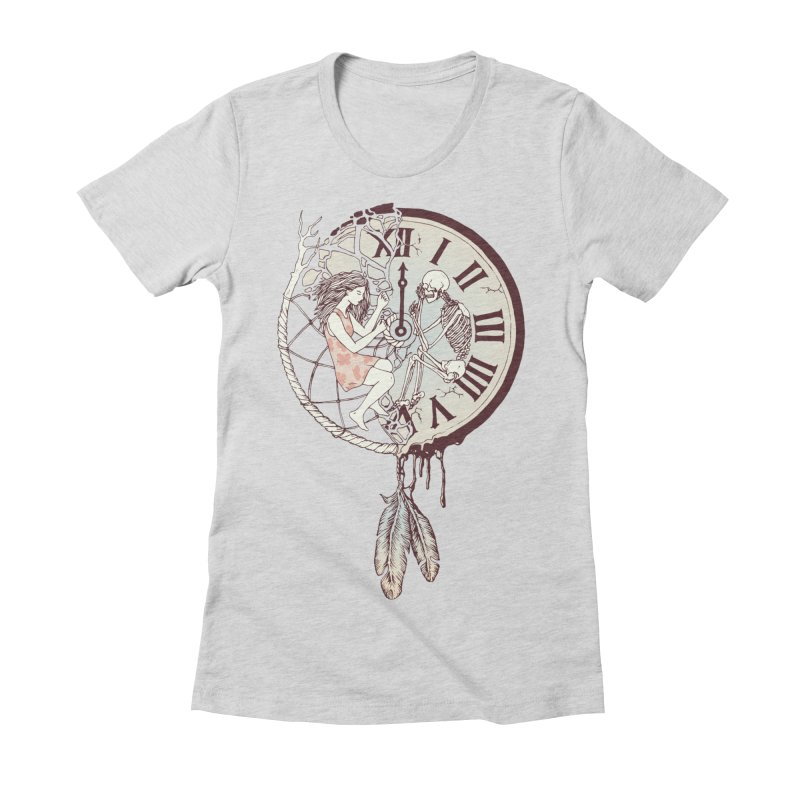Life is But a Dream Women's Fitted T-Shirt by normanduenas's Artist Shop