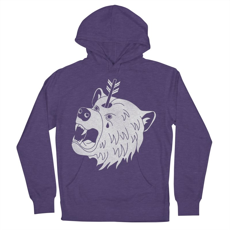 Bear in Mind Men's Pullover Hoody by normanduenas's Artist Shop