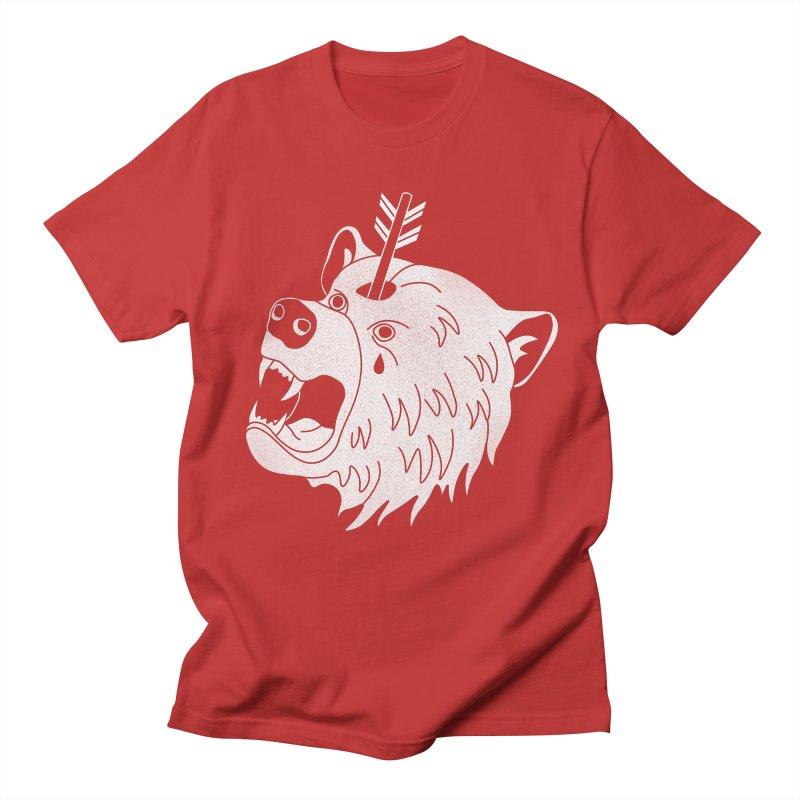 Bear in Mind Men's T-shirt by normanduenas's Artist Shop