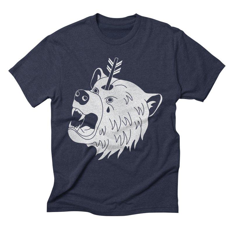 Bear in Mind Men's Triblend T-Shirt by normanduenas's Artist Shop