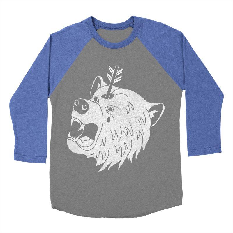Bear in Mind Women's Baseball Triblend T-Shirt by normanduenas's Artist Shop