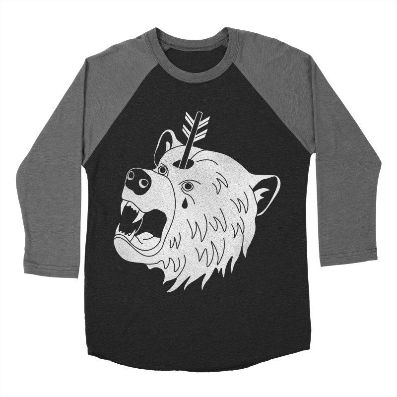 Bear in Mind Men's Baseball Triblend T-Shirt by normanduenas's Artist Shop