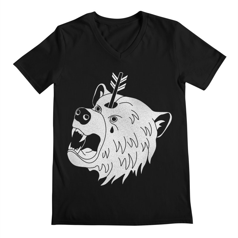 Bear in Mind Men's V-Neck by normanduenas's Artist Shop