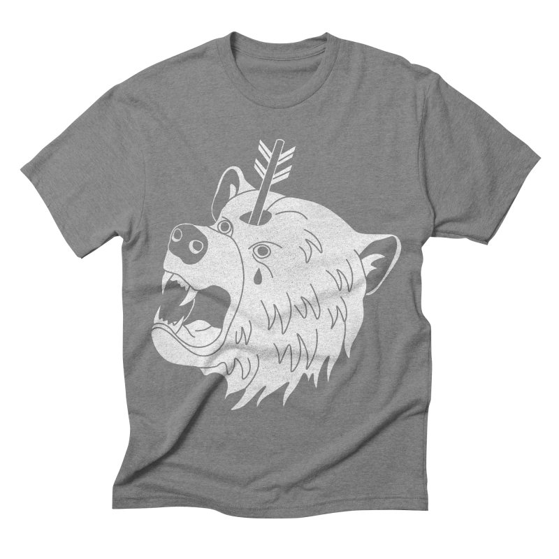 Bear in Mind Men's Triblend T-shirt by normanduenas's Artist Shop