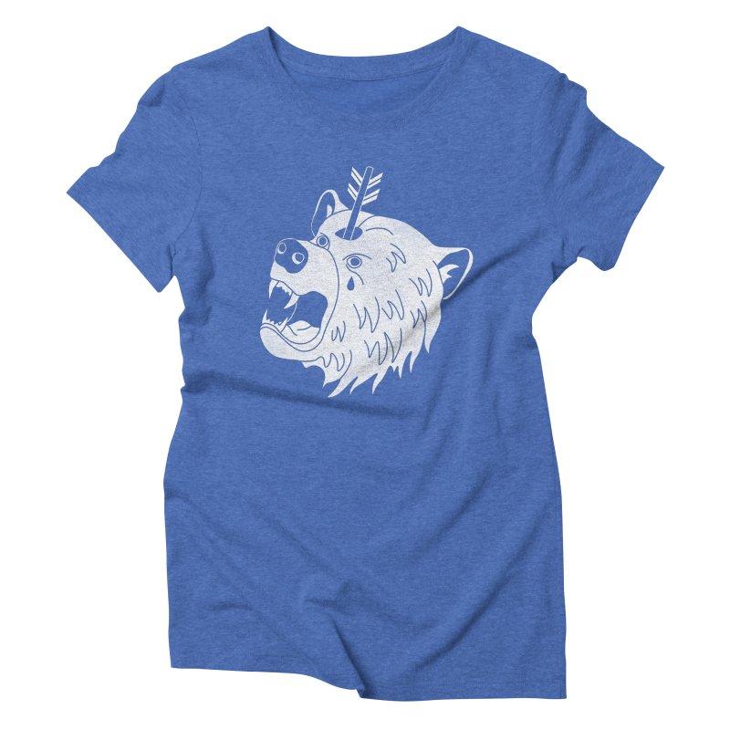 Bear in Mind Women's Triblend T-Shirt by normanduenas's Artist Shop