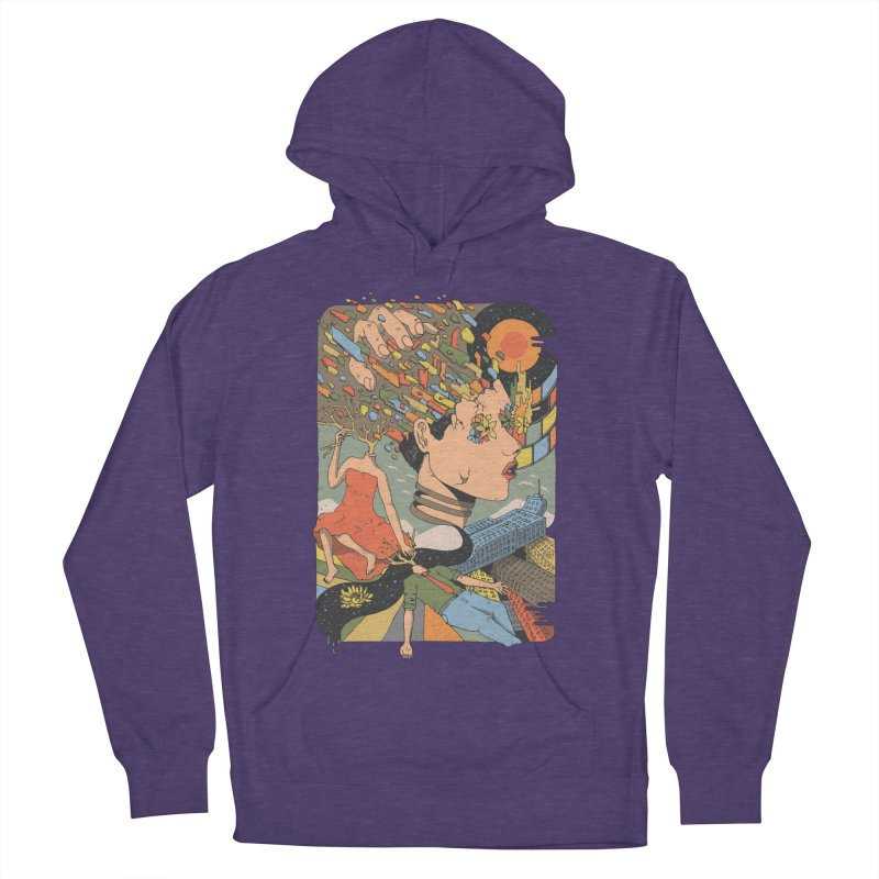 A Shattered Mind Women's Pullover Hoody by normanduenas's Artist Shop