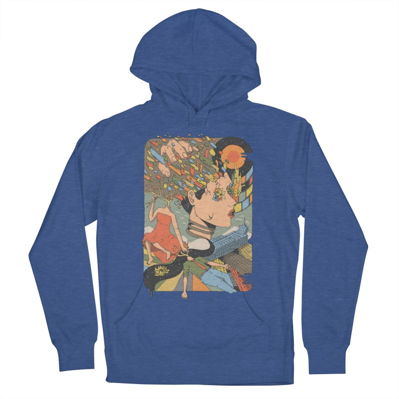 A Shattered Mind Men's Pullover Hoody by normanduenas's Artist Shop