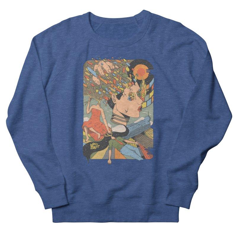 A Shattered Mind Men's Sweatshirt by normanduenas's Artist Shop