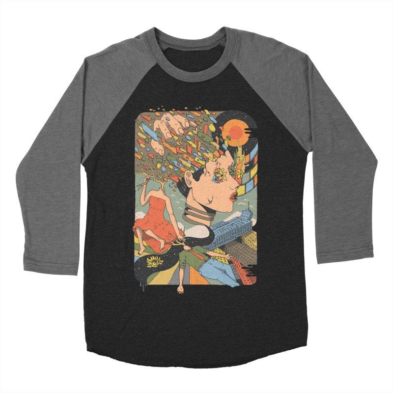 A Shattered Mind Women's Baseball Triblend T-Shirt by normanduenas's Artist Shop