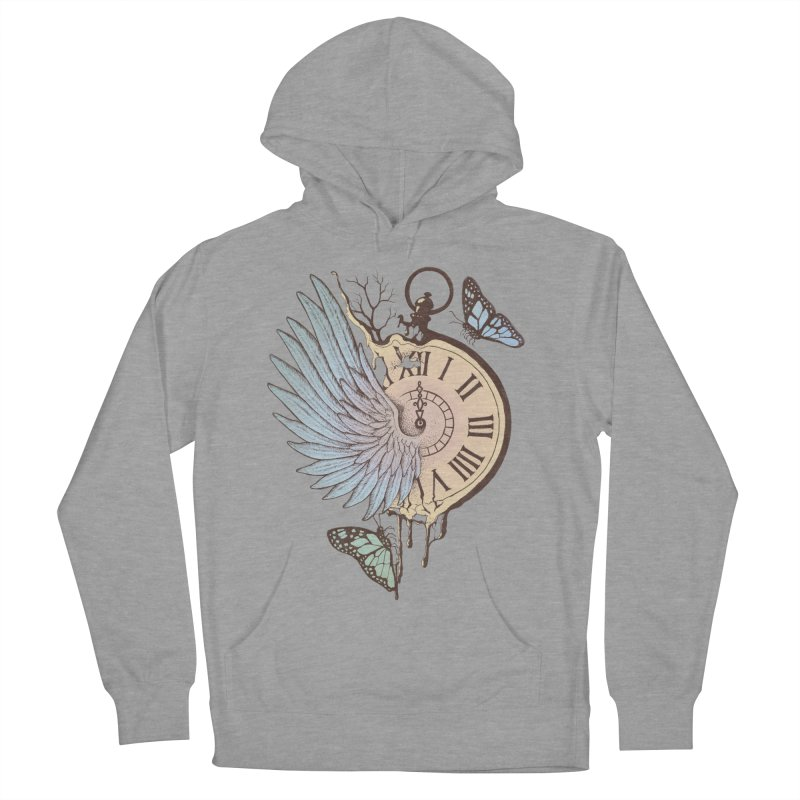 Le Temps Passe Vite (Time Flies) Women's Pullover Hoody by normanduenas's Artist Shop