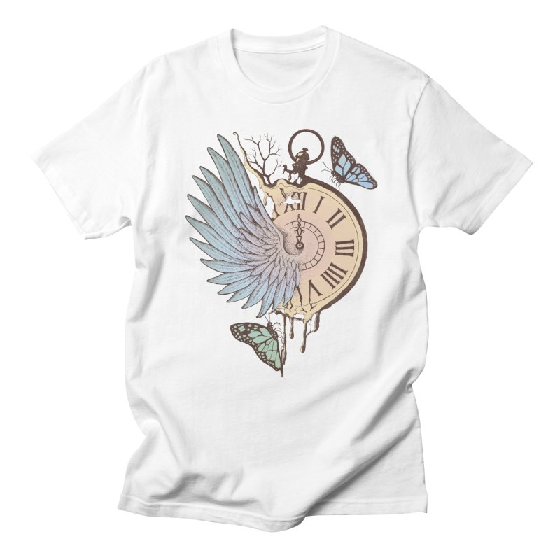 Le Temps Passe Vite (Time Flies) Men's T-shirt by normanduenas's Artist Shop