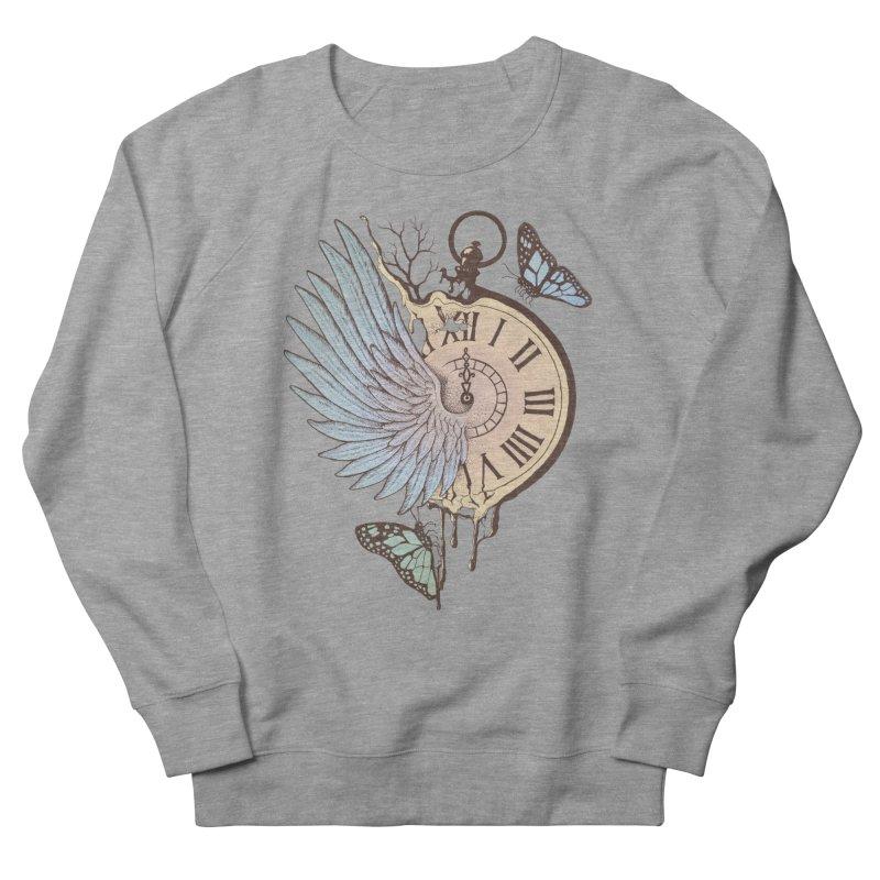 Le Temps Passe Vite (Time Flies) Women's Sweatshirt by normanduenas's Artist Shop